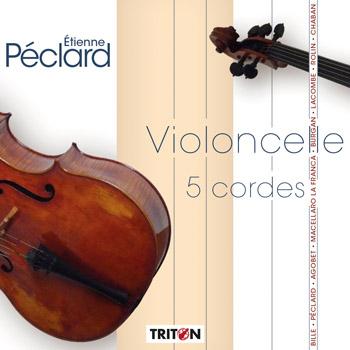 E. Péclard : Violoncelle 5 cordes