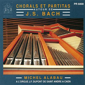 J. S. Bach : Chorals et Partitas pour orgue (Egl. St-André de Caen)