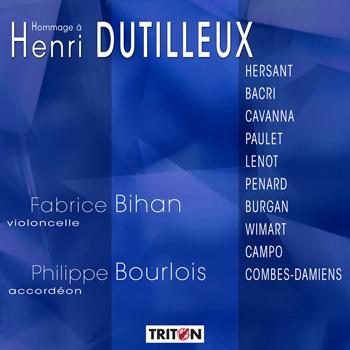 Hommage à Henri Dutilleux par 10 compositeurs - Violoncelle et accordéon