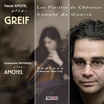 Pascal Amoyel plays Greif - Avec Emmanuelle Bertrand, violoncelle