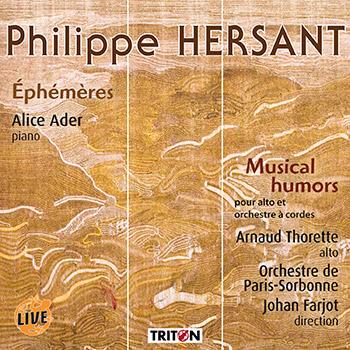 P. Hersant : Éphémères - 24 haïkus pour piano…