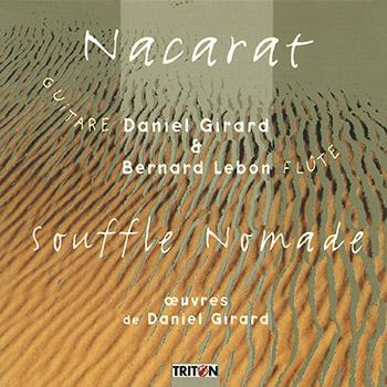 Nacarat - Souffle nomade - Œuvres pour guitare, flûte et percussions