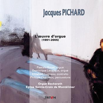 J. Pichard : L'œuvre d'orgue - Pièces pour orgue, percussions et voix (Egl. Ste-Croix de Montélimar)