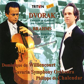 A. Dvorak - J. Brahms : Œuvres symphoniques et concertantes
